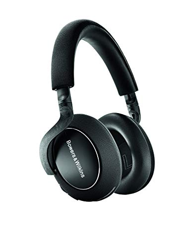 Bowers & Wilkins PX7 kabellose Bluetooth Over-Ear Kopfhörer mit adaptiven Noise Cancelling - Carbon