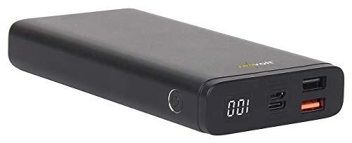 revolt Powerbank 12 Volt: Powerbank mit Quick Charge 3.0 und USB Typ C PD, 20.000 mAh, 3 A, 18 W (12V Power Bank)