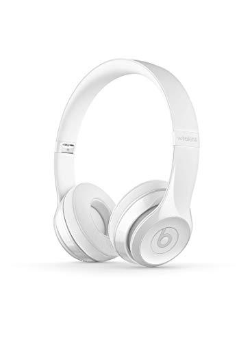 BeatsSolo3Kabellose Bluetooth On-EarKopfhörer– AppleW1Chip, Bluetooth der Klasse1, 40Stunden Wiedergabe– Weiß-glänzend