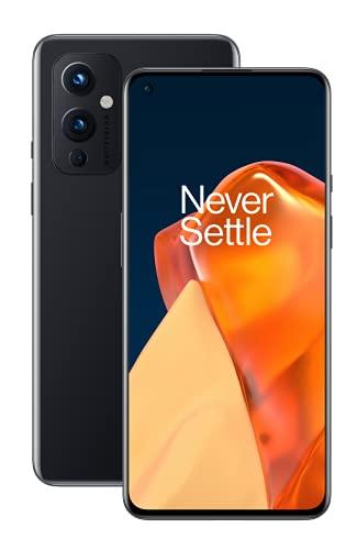 OnePlus 9 5G Smartphone mit Hasselblad Kamera für Handys - Astral Black 8 GB RAM + 128 GB, SIM-frei