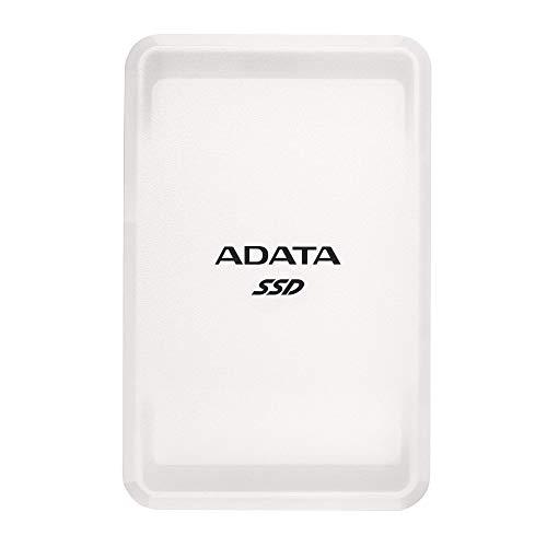 ADATA SC685-1 TB, Externe Solid-State-Drive mit USB 3.2 Gen.2 Typ-C, 2.5 Zoll, weiß