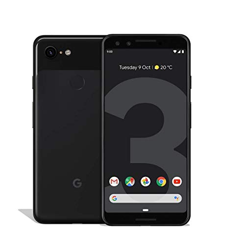 Google Pixel 3 64GB Black Smartphone 12,2MP Schwarz