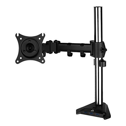 ARCTIC Z1 Pro (Gen 3) - Monitorarm, für bis zu 34'/38' Ultrawide Monitore & Fernseher, 4-Port SuperSpeed USB Hub, neigbar, schwenkbar, VESA 75x75/100x100 - Schwarz