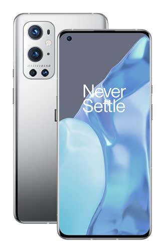 OnePlus 9 Pro 5G SIM-freies Smartphone mit Hasselblad-Kamera für Smartphones - Morning Mist 8GB RAM 128GB - 2 Jahre Garantie