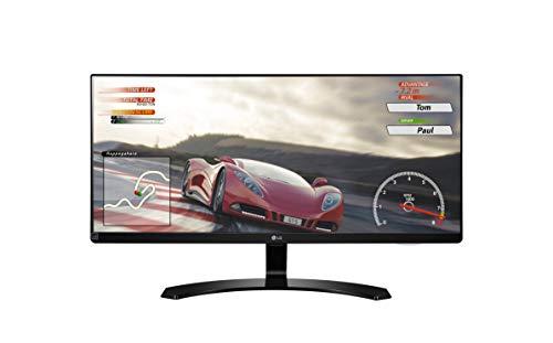 LG 29UM68-P 73,66 cm (29 Zoll) 21:9 UltraWide™ Full HD IPS Monitor (AMD Radeon FreeSync, DAS Mode, 99%sRGB), schwarz