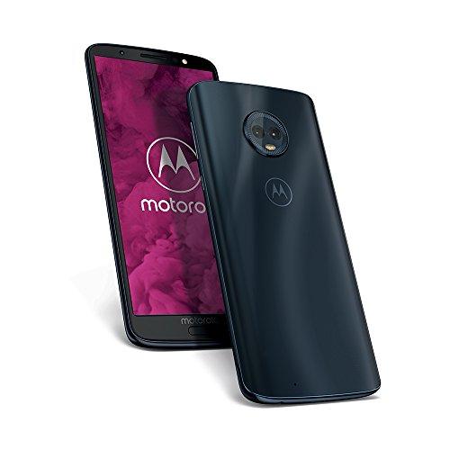 moto g6 Smartphone (14,5 cm (5,7 Zoll), 64GB interner Speicher, 4GB RAM, Android) Deep Indigo [Exklusiv bei Amazon]
