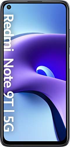 """Xiaomi Redmi Note 9T 5G - Smartphone 4GB+128GB, 6,53"""" FHD+ DotDisplay 60Hz, MediaTek Dimensity 800U, 48MP Triple Kamera, 5000mAh, NFC, Nightfall Black (Offizielle Version + 2 Jahre Xiaomi Garantie)"""