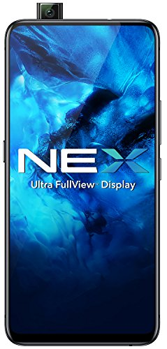 Vivo NEX Smartphone, Ultra-FullView-Display, 8 GB RAM + 128 GB Speicher, Dual-SIM, ohne Simlock, internationale Version, Google Play vorinstalliert