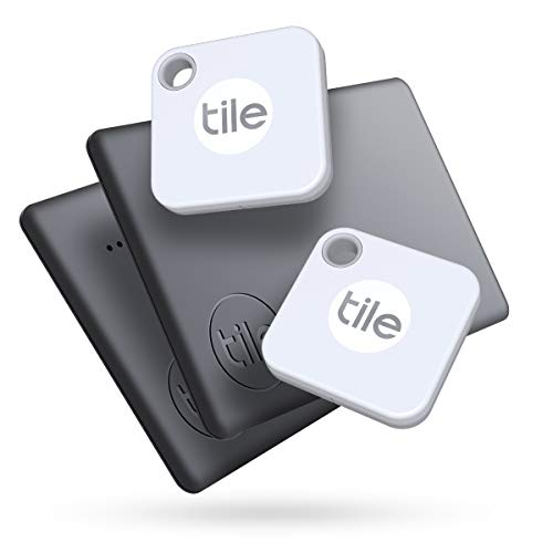 Tile Mate + Slim Combo (2020) Schlüsselfinder - inkl. Community Suchfunktion, iOS und Android App, kompatibel mit Alexa und Google Home