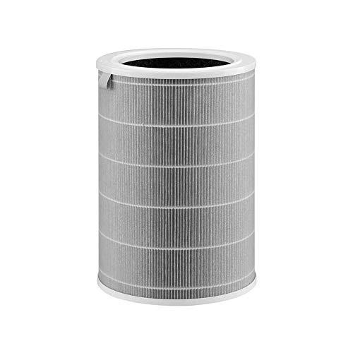 Xiaomi HEPA-Filter für Luftreiniger, beseitigt 99.97% kleine Partikel wie 0,3 Micro, kompatibel mit Mi Air Purifier 2H, 3H, Pro, Grau