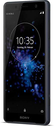Sony Xperia XZ2 Compact Smartphone (12,7 cm (5,0 Zoll) IPS Full HD+ Display, 64 GB interner Speicher und 4 GB RAM, Dual-SIM, IP68, Android 8.0) schwarz - Deutsche Version