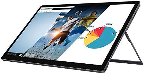 auvisio Mobiler Full-HD-IPS-Touchscreen mit 39,6 cm / 15,6', USB C, HDMI, Akku