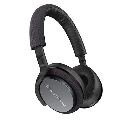 Bowers & Wilkins PX5 kabellose On-Ear Kopfhörer mit Noise Cancelling, Grau (Space Grey)