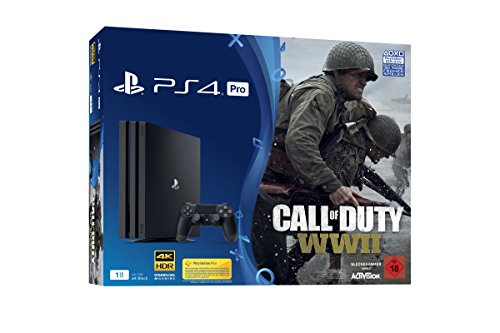 PlayStation 4 Pro - Konsole (1TB) inkl. Call of Duty: WWII