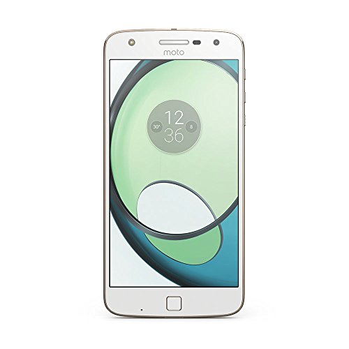 moto Z play Smartphone (14 cm (5,5 Zoll), 32 GB, Android) Weiß/Fine Gold