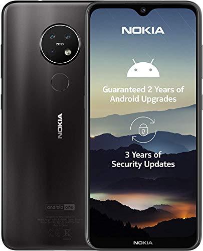 Nokia 7.2 Smartphone - Deutsche Ware (16cm (6,3 Zoll), 128GB Interner Speicher, 6GB RAM, Dual-SIM, LTE) Charcoal