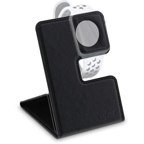 InLine Halterung für Apple Watch für Schreibtisch/Regal, Schwarz, faltbar