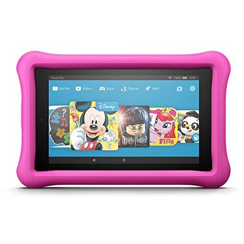 Fire HD 8 Kids Edition-Tablet, 20,3 cm (8 Zoll) HD Display, 32 GB, pinke kindgerechte Hülle (vorherige Generation – 7.)