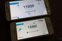 Galaxy S5 vs iPhone 5S Basemark X