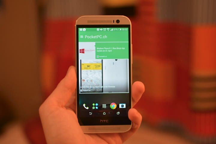 BlinkFeed am HTC One M8