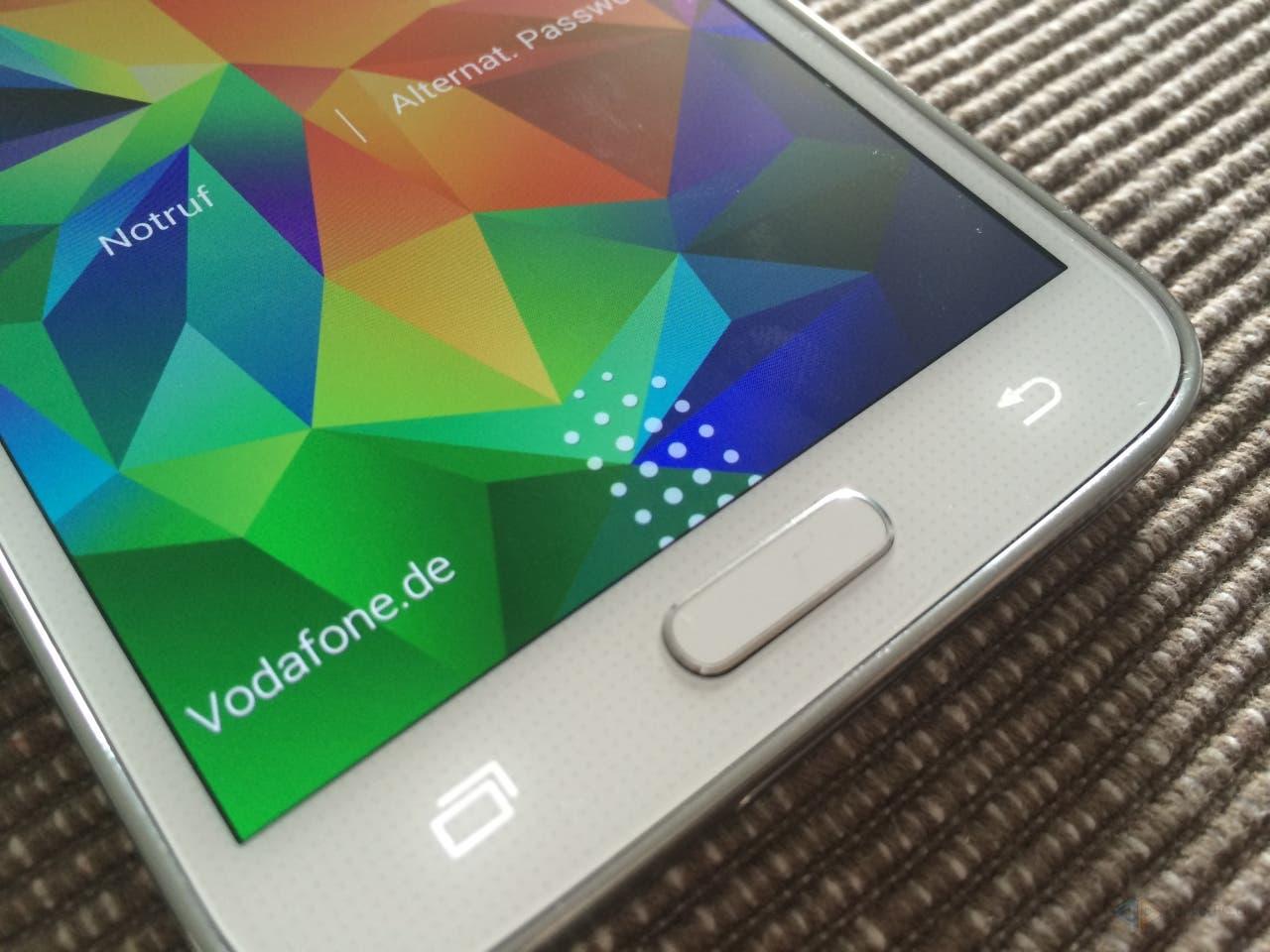 Samsung Galaxy S5 Fingerprintsensor