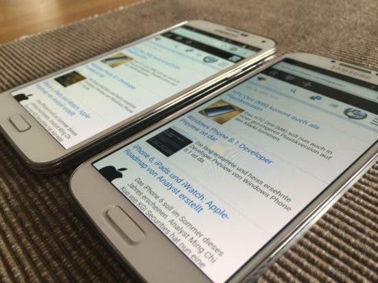 Review Samsung Galaxy S5 Im Test 2163