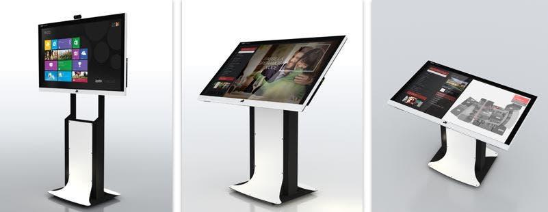 Der MaxPad Fernseher von Apek kommt mit Windows 8.1