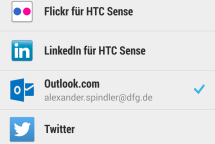 Screenshot HTC One