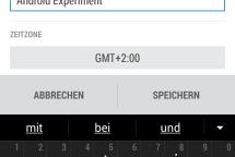 Screenshot HTC One