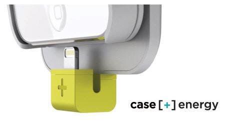 Lightning Anschluss am Logitech-Case
