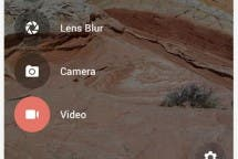 Google Camera Screenshot