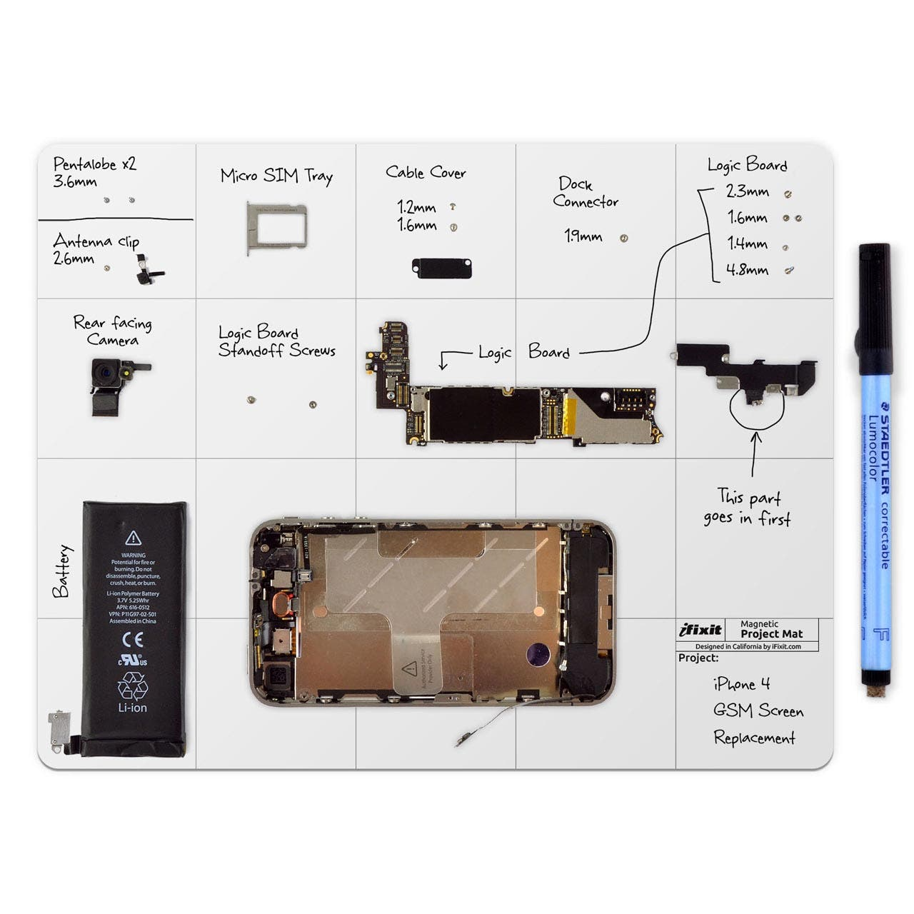 Review Ifixit Magnetic Project Mat Pro Pocketpc Ch