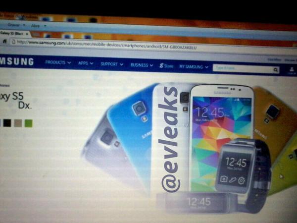 Samsung Galaxy S5 Mini, Prime und Swarovski: Weitere Details bekannt geworden