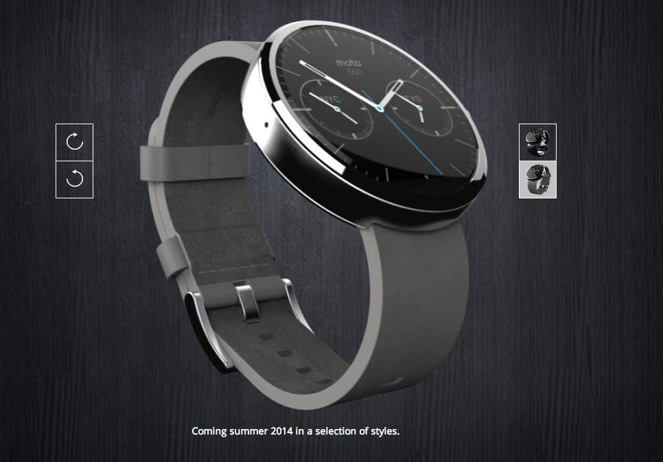 Moto 360 Smartwatch: Release im Juli für 249 Euro