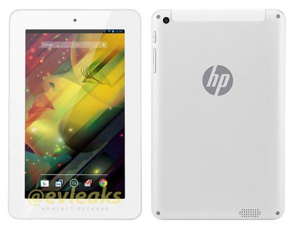 HP Android-Tablet: Neues Device auf Bildern zu sehen