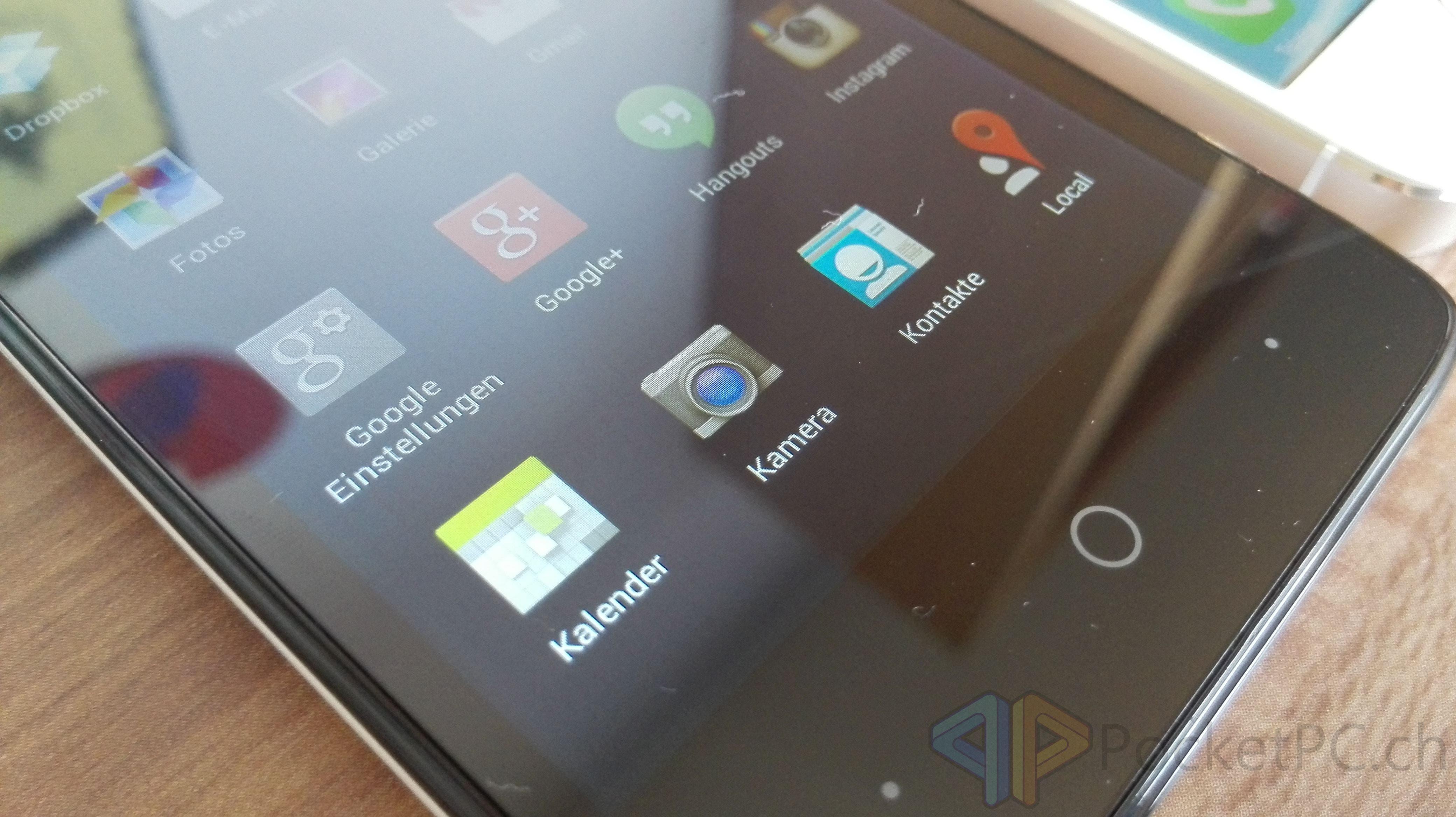 Geeksphone Revolution Display