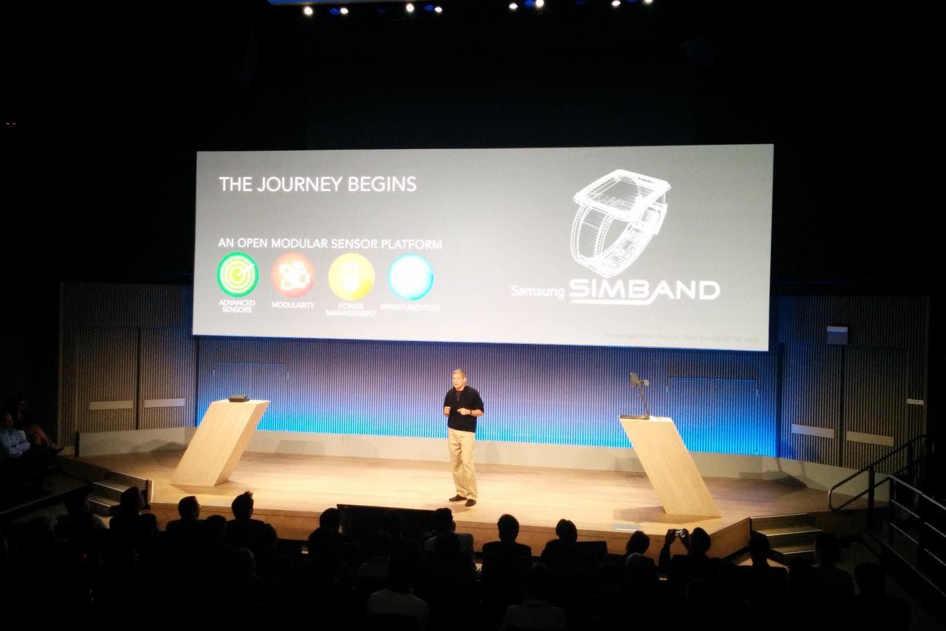 Samsung Simband: Neues Fitnessarmband vorgestellt