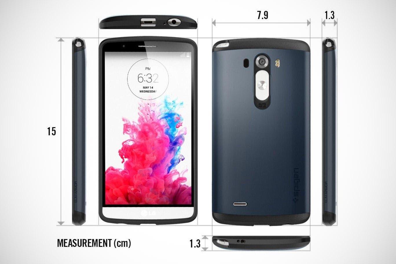 LG G3: Display, Quick Circle Case und weitere Details bestätigt