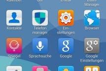 Huawei Ascend P7 EMUI Screenshot