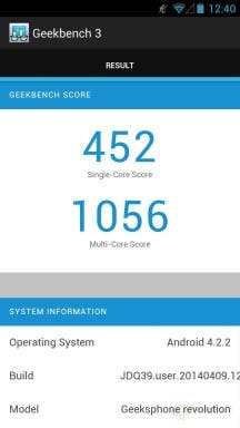 Ascend P7 Benchmark