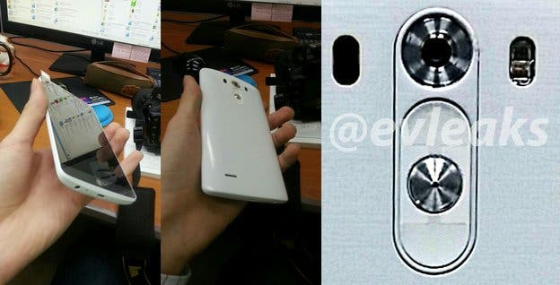LG G3 Display Kamera