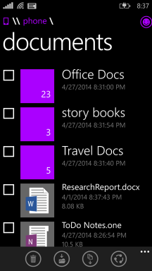 WP8.1 File Manager