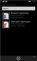 file manager windows phone 8.1