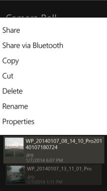 Folders File Manager für Windows Phone 8.1