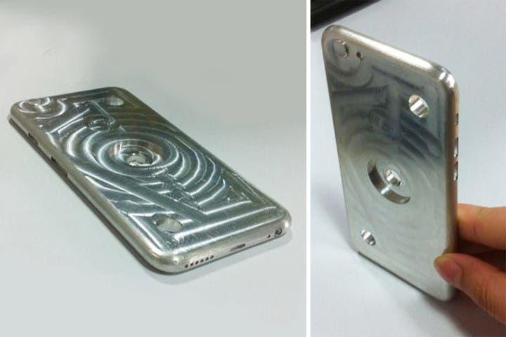iPhone 6 Hüllen-Gussform aus Aluminium in Rumänien gesichtet