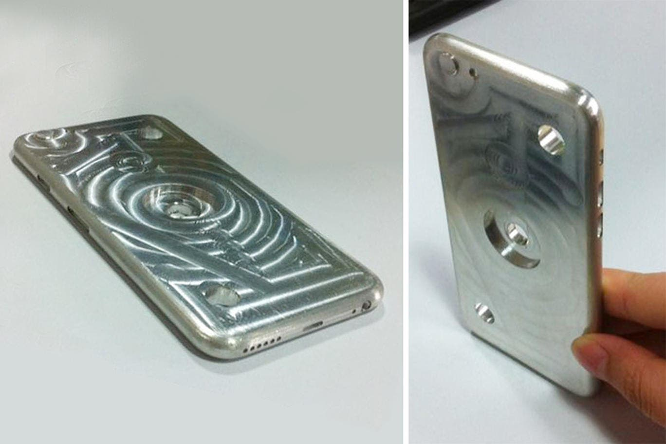 iPhone 6 Hüllen-Gussform aus Aluminium in Rumänien gesichtet