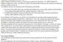 Nokia iOS Android Stellenanzeige