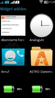 Screenshot Nokia X