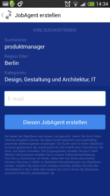 StepStone Job App