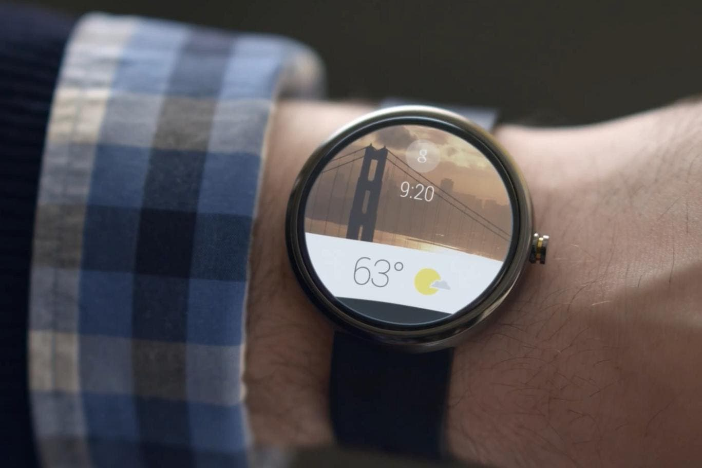 Moto 360 Android Wear
